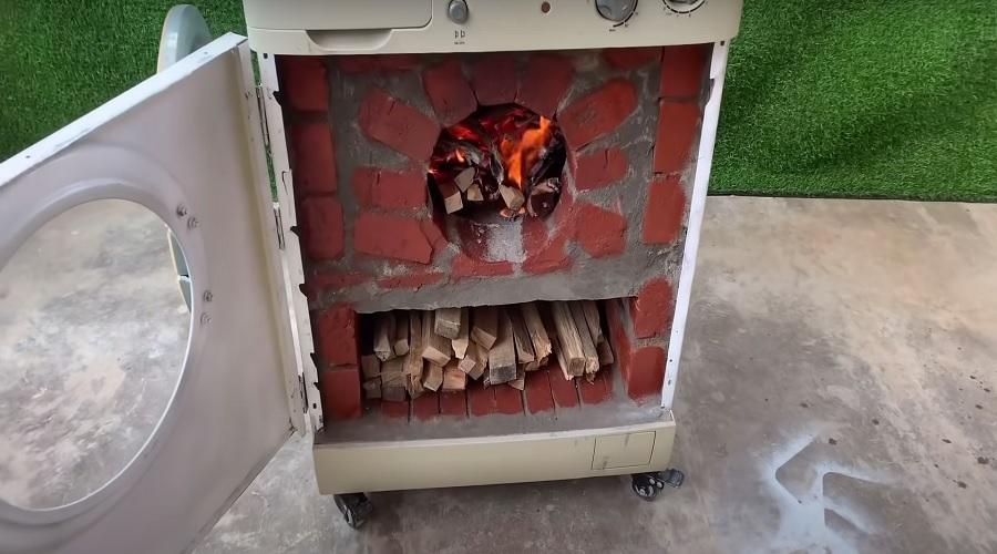готовая дровяная печь