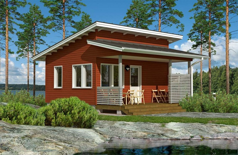 Финские дома и их способ защиты от плесени