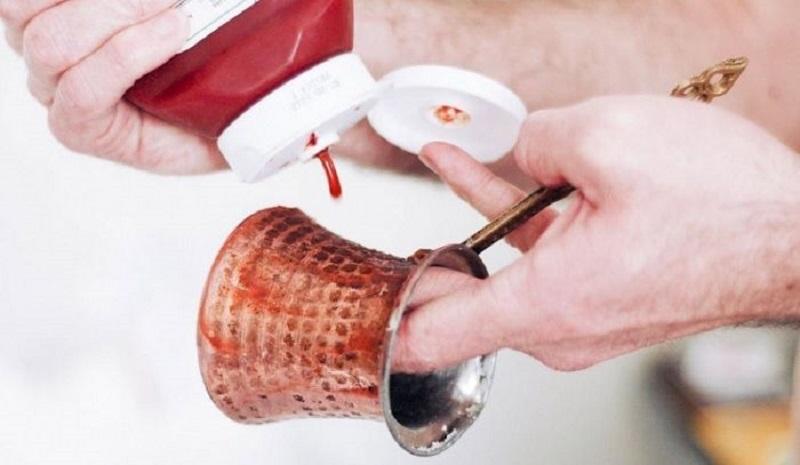 кетчуп для очистки меди