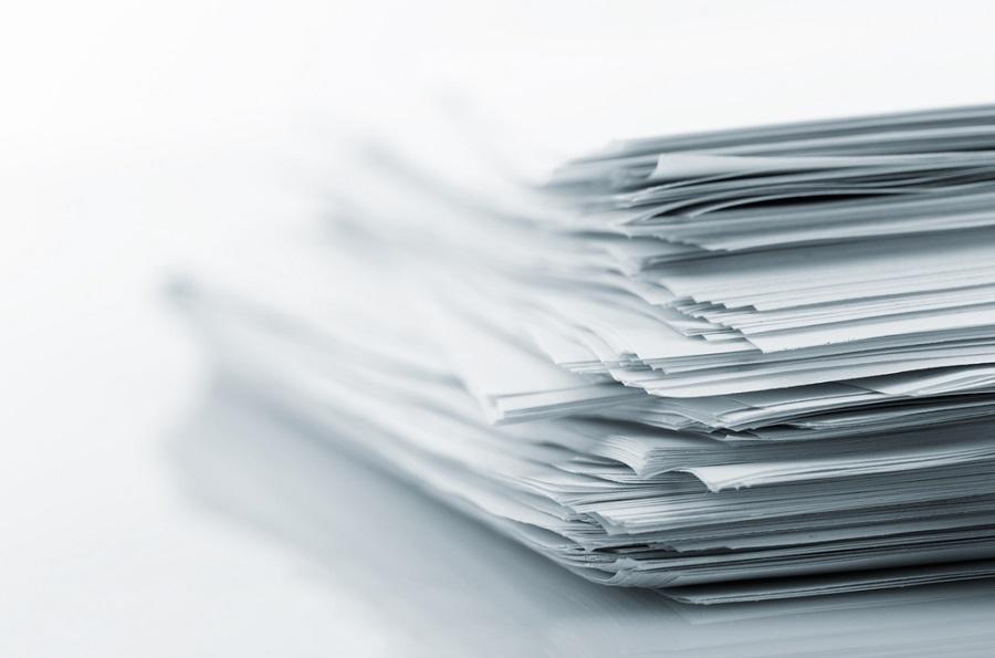 стопки бумаги