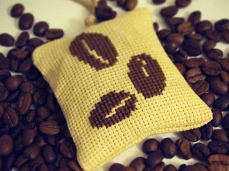 освежитель воздуха из кофе