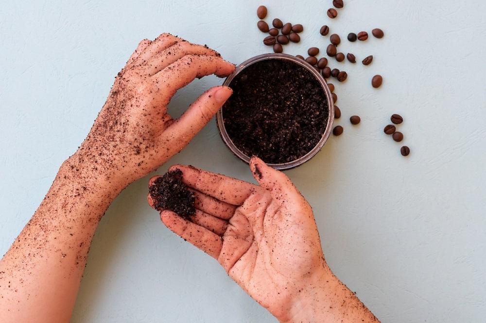 кофейная гуща для рук