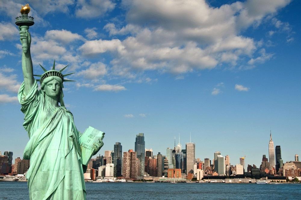 известные статуи статуя свободы