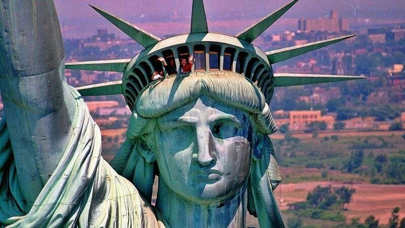 смотровая площадка статуя свободы