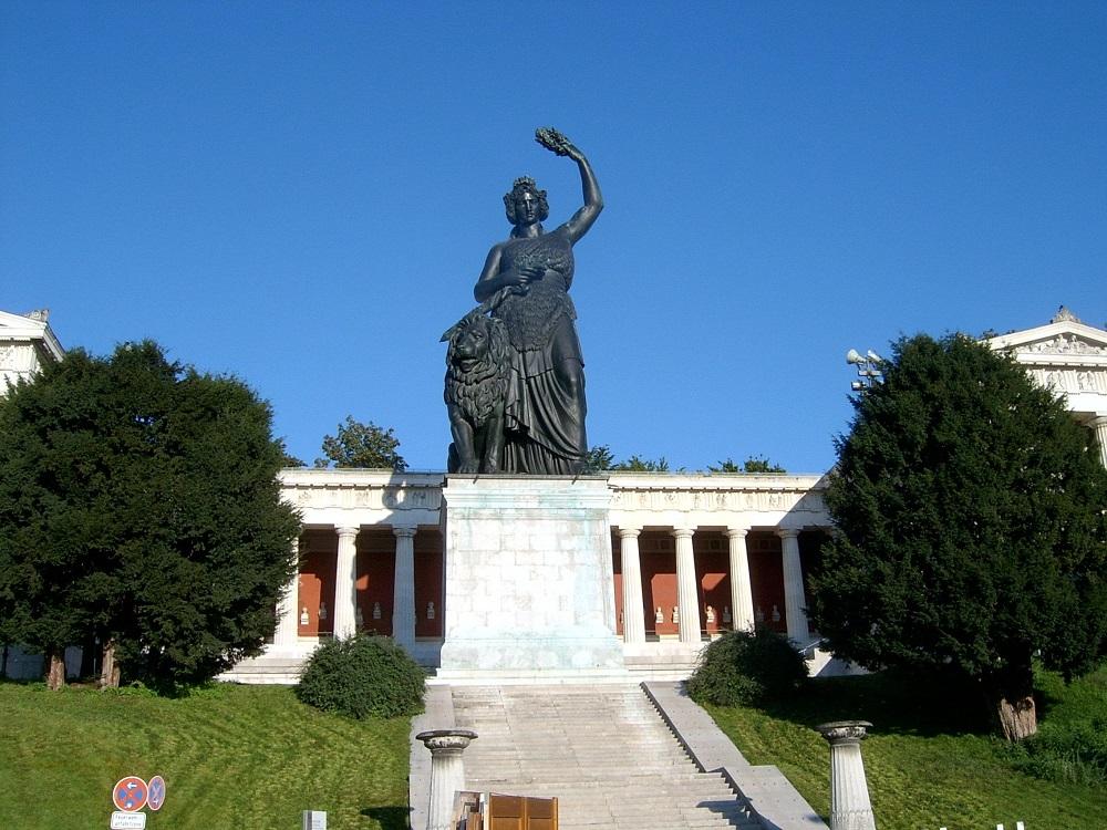 статуя бавария в мюнхене