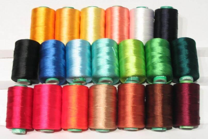 шелковые нитки для французского шва