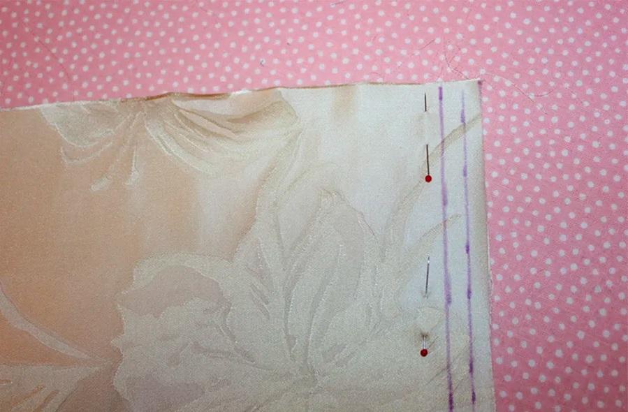 ткань французский шов