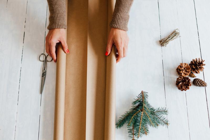 как красиво упаковать подарок из подручных средств