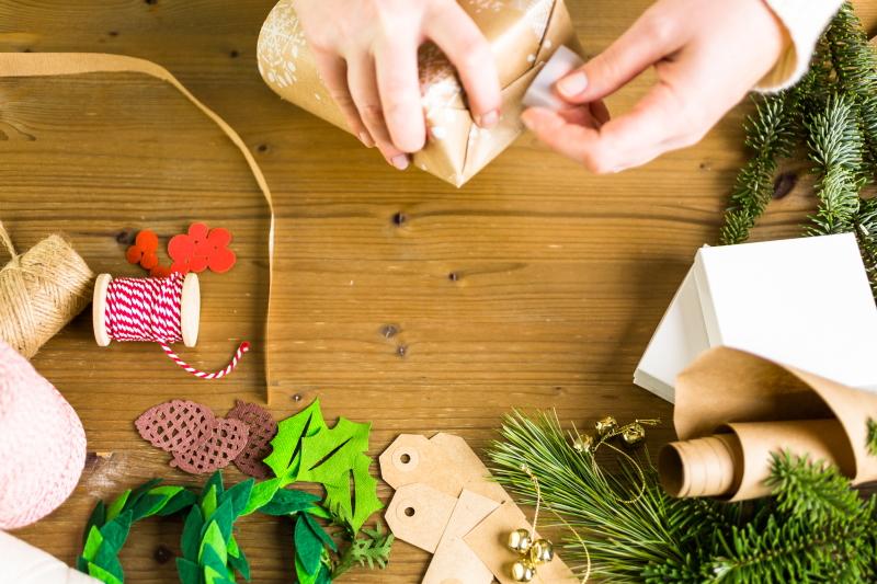 как красиво упаковать подарок оберточной бумагой