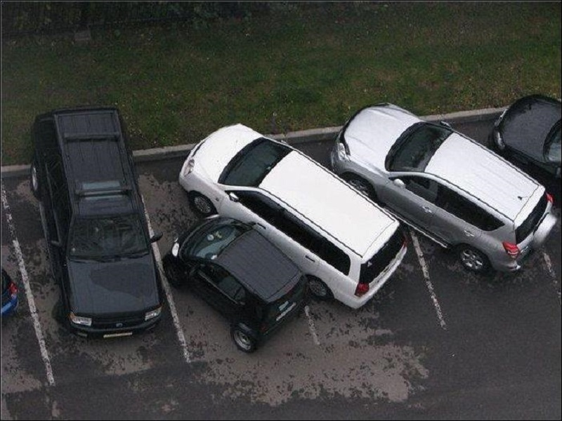 парковка смарт прикол