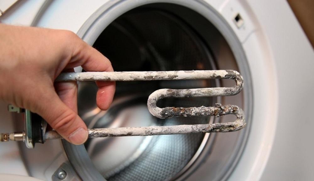 стиральная машинка с накипью