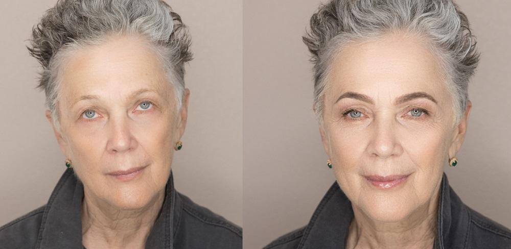 возрастное окрашивание бровей