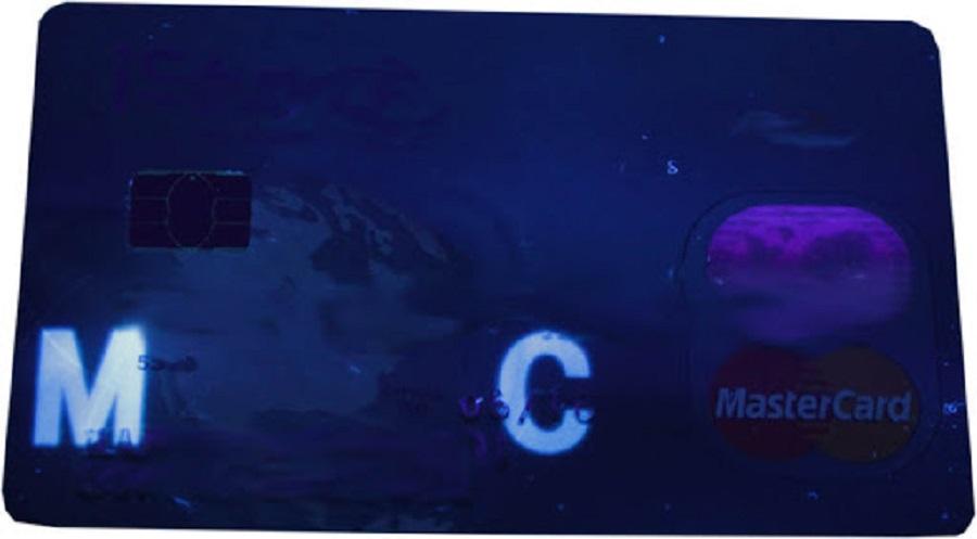 карта в ультрафиолете