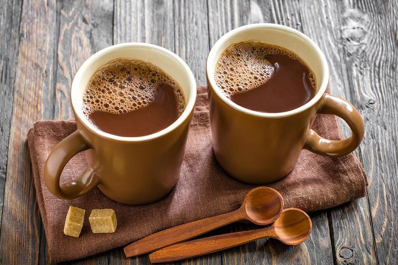 Как приготовить какао с малиновым сиропом