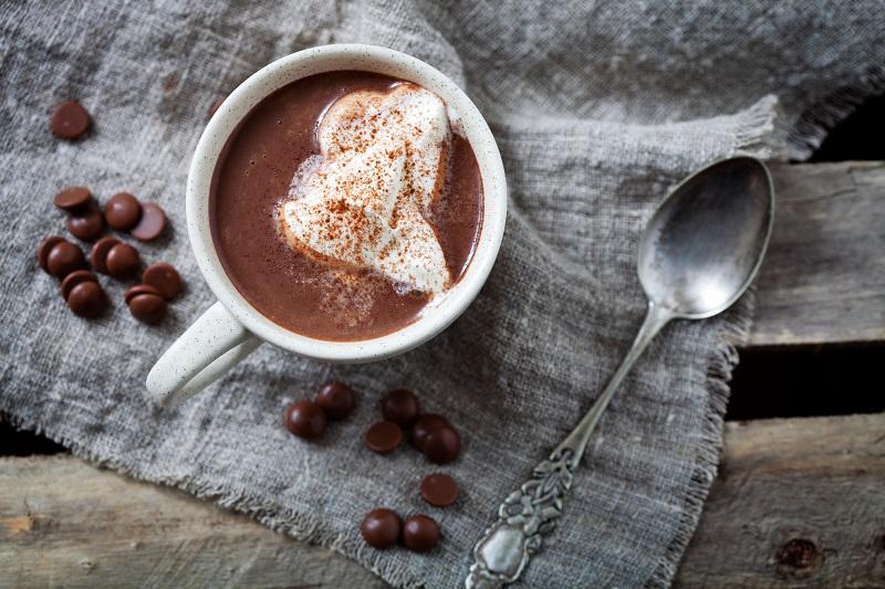 Как приготовить какао с бананами