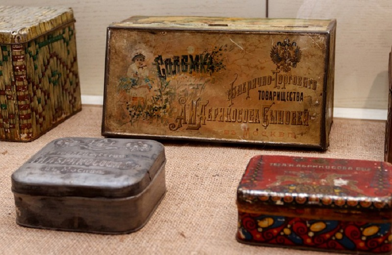 коробочки от конфет ссср