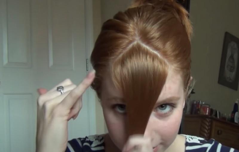 как отделить волосы