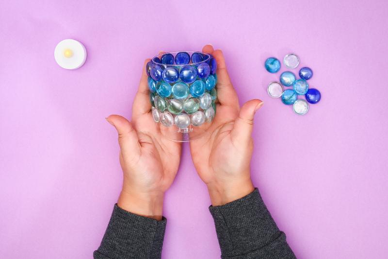 как сделать круглый светильник своими руками