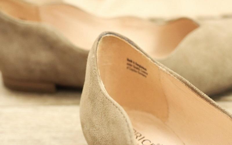 масло на обуви