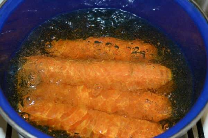 как варить морковь в кожуре