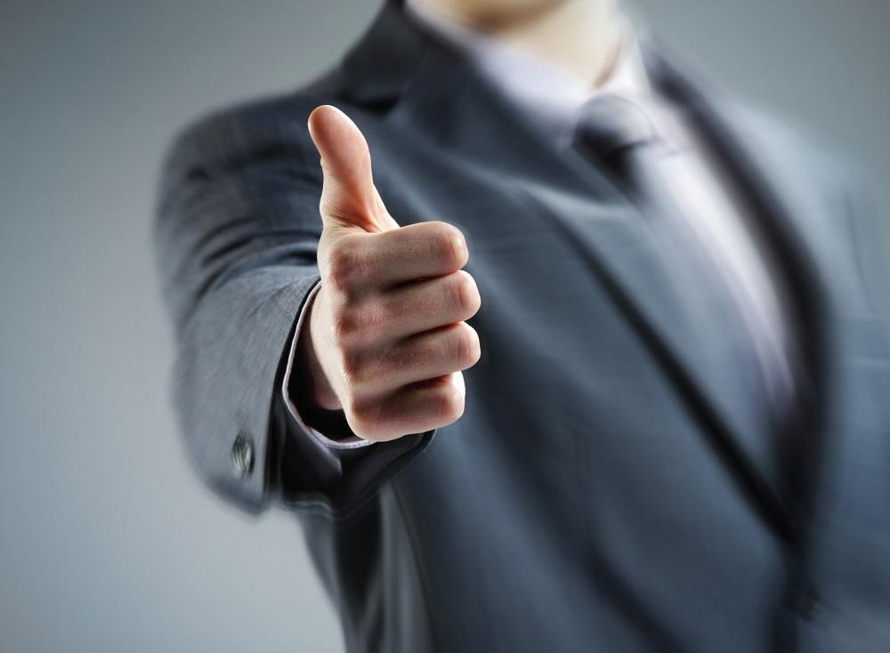 палец вверх жест
