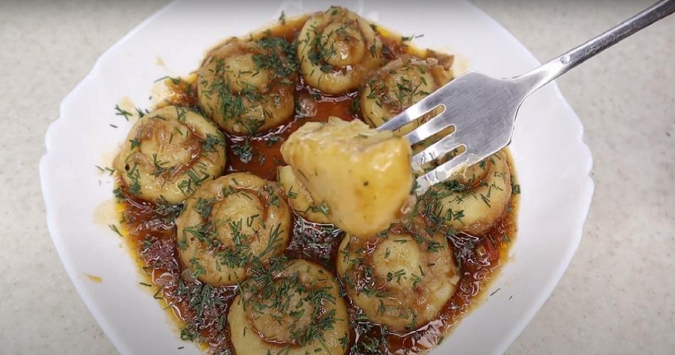 готовые картофельные грибы