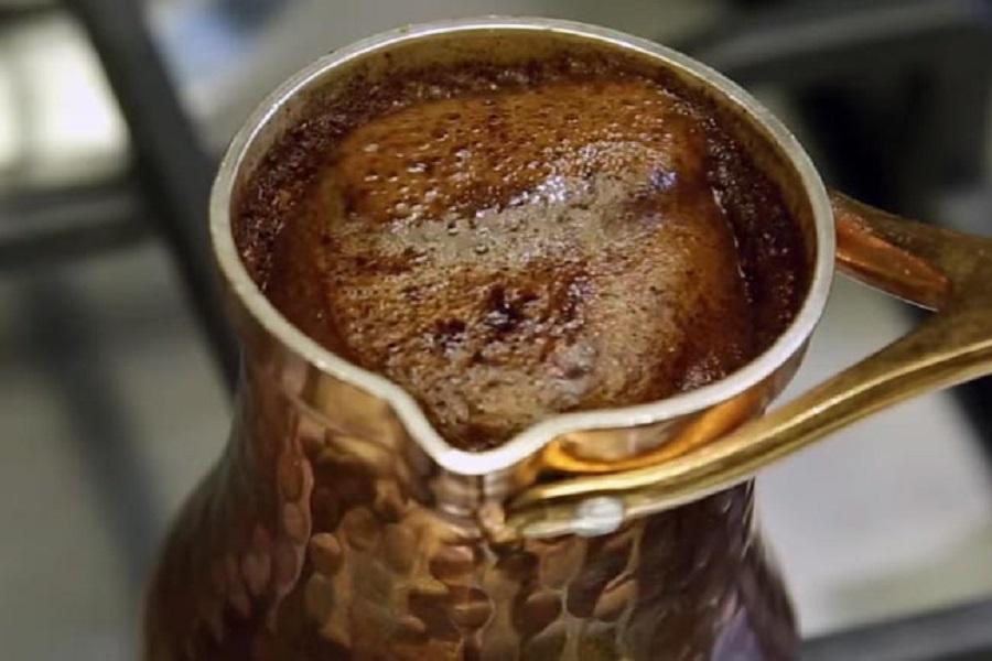 финиковый кофе в турке