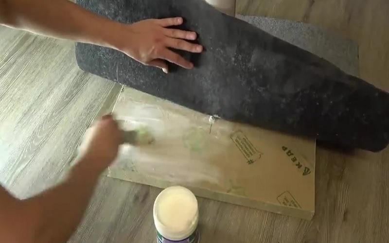Как закрепить ковролин