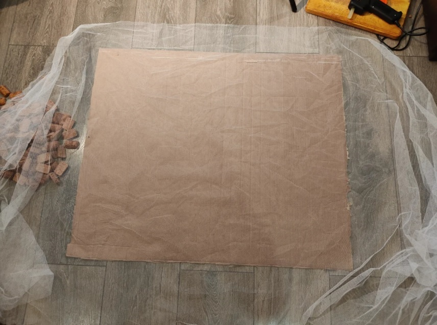 основа для коркового коврика