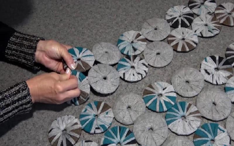 как сформировать коврик