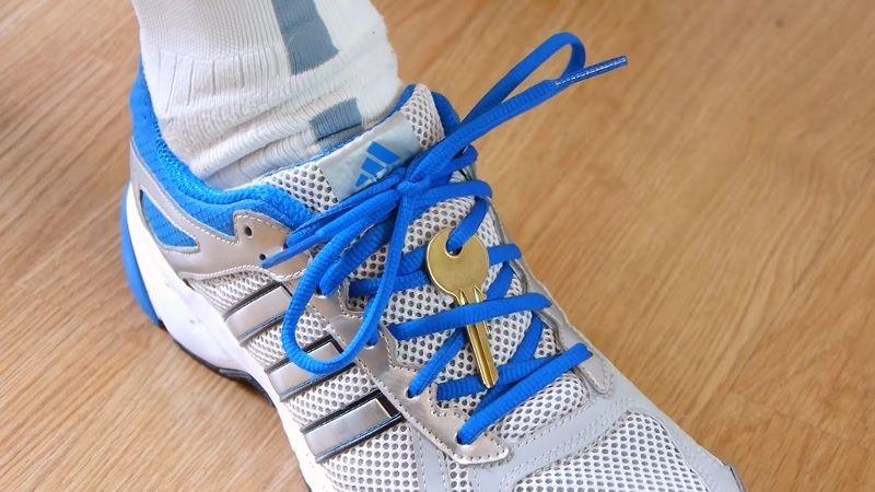 лайфхаки для жизни ключ на шнурке