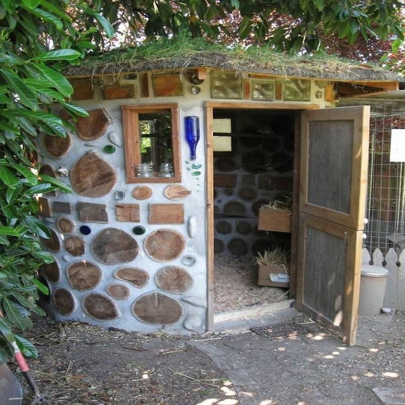 экологический домик для кур