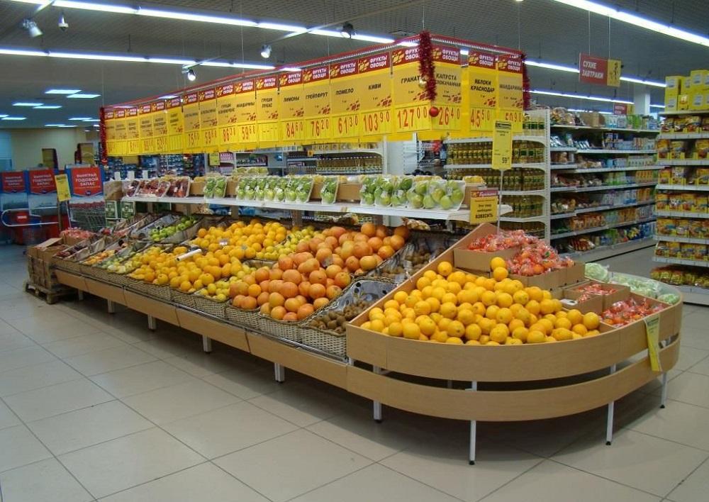 овощной отдел супермаркета