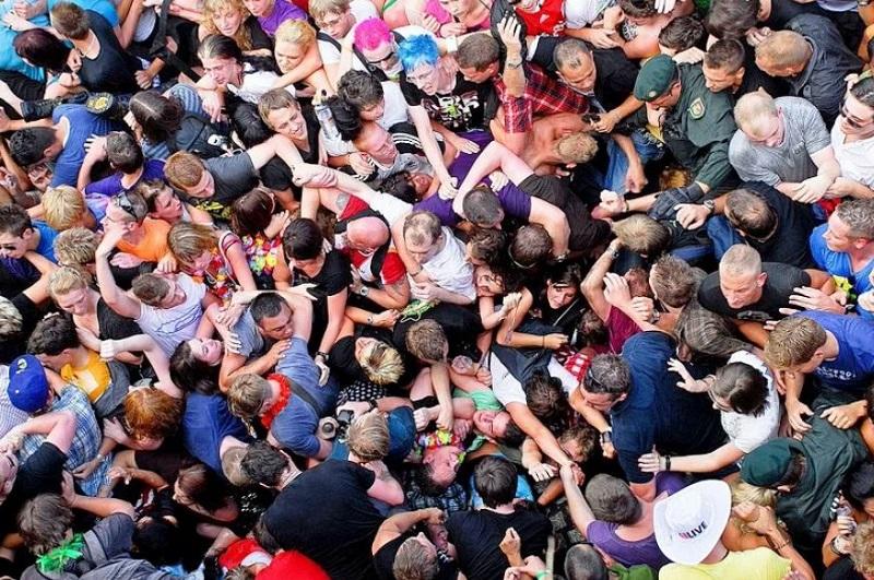 Массовое скопление людей