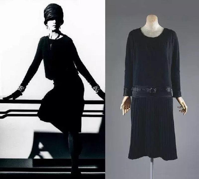 модные вещи черное платье
