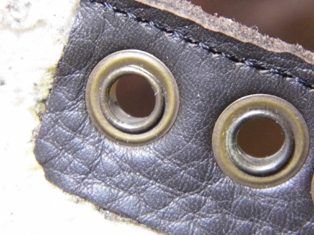 люверсы на обуви