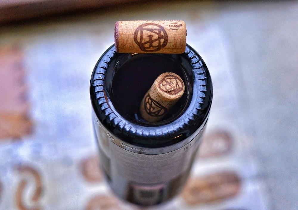 вогнутое дно бутылки