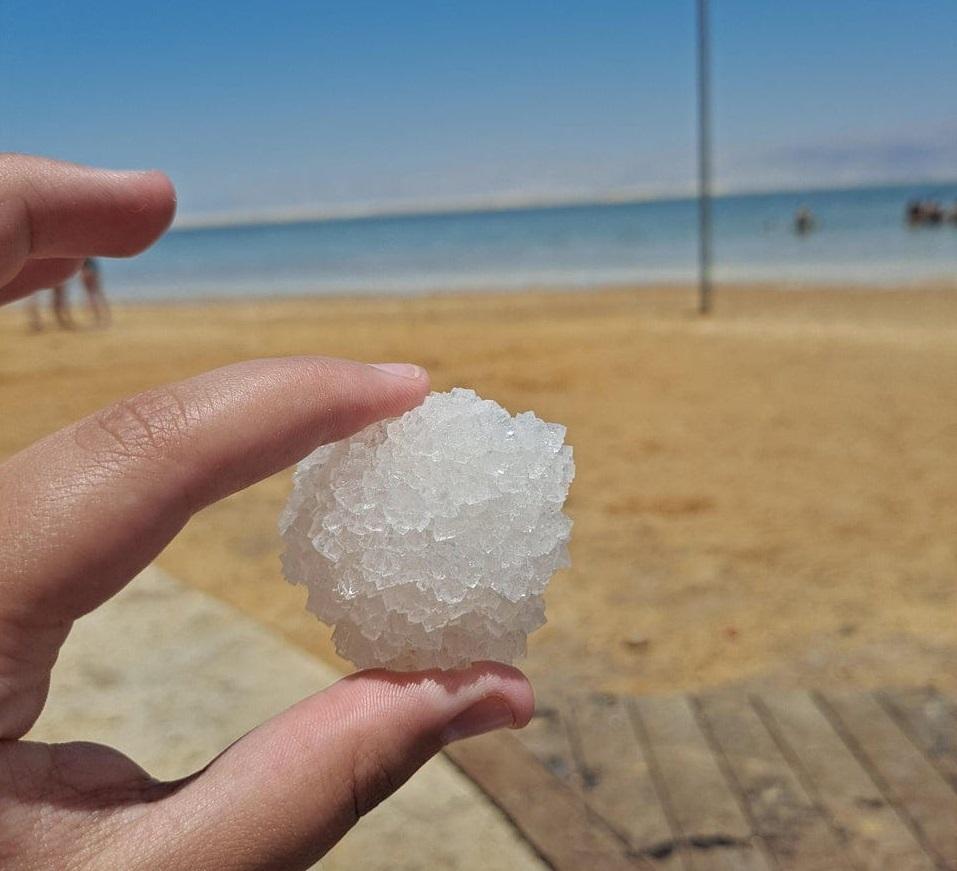 необычные находки шарик из соли