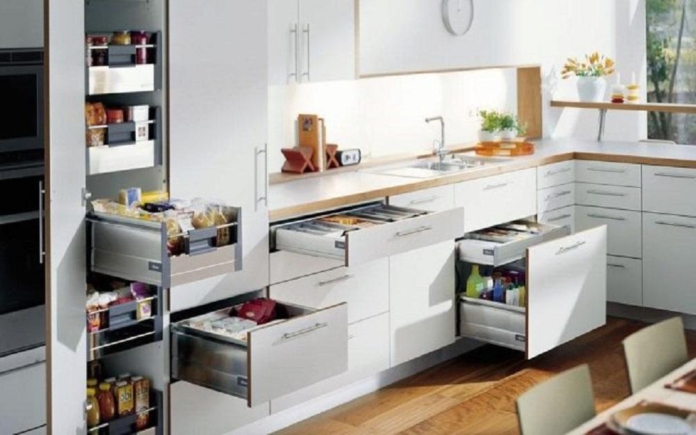 шкафчики для кухонных приспособлений