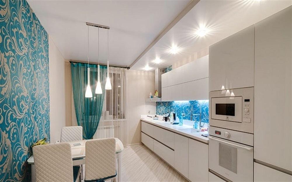 пример правильного осветления на кухне