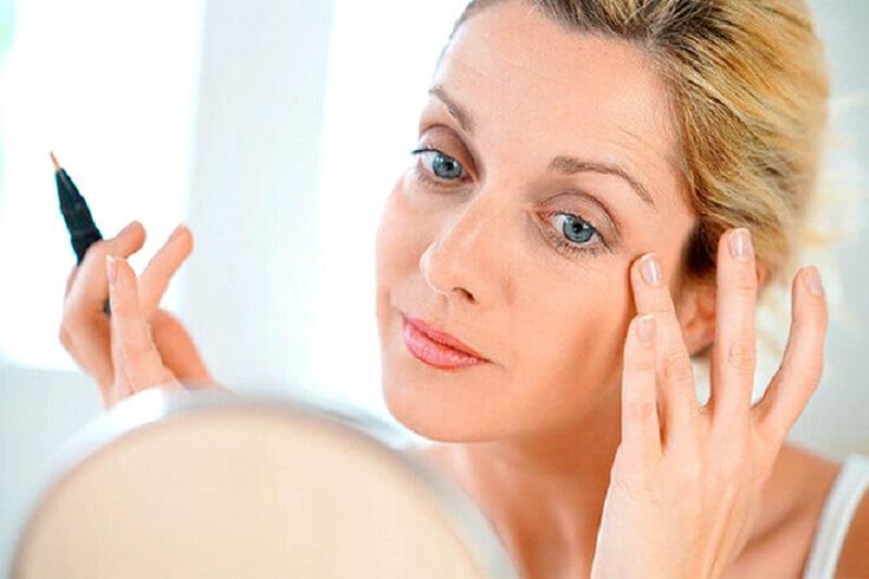 естественный макияж возрастной