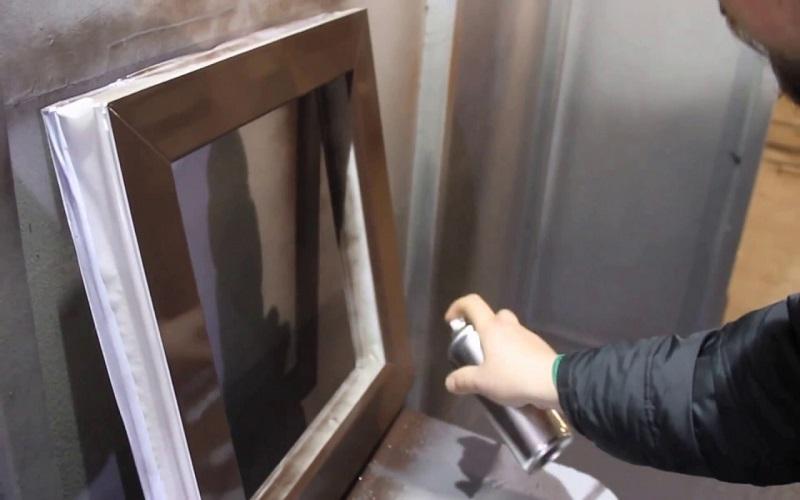 подготовка для покраски пластиковых окон