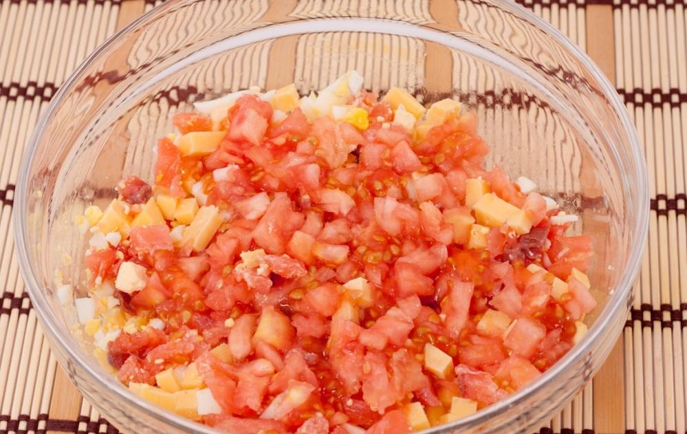 добавить томатную мякоть в начинку