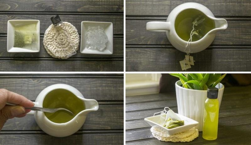 тоник для лица с алоэ и зеленым чаем