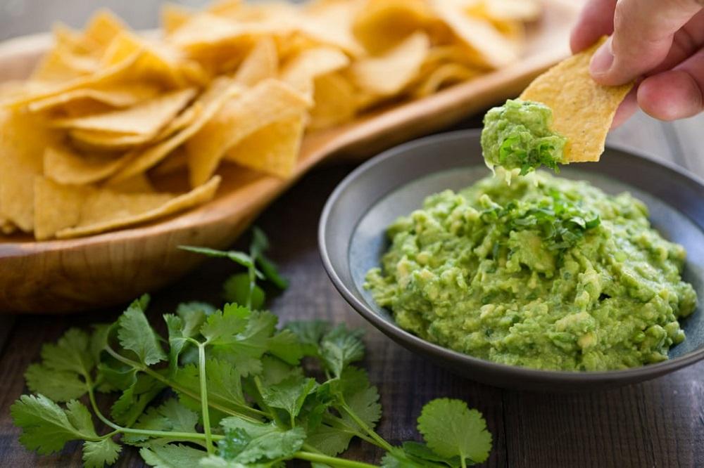 применение авокадо в гуакамоле