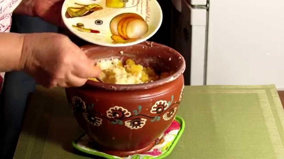 рецепт пшенной каши в духовке
