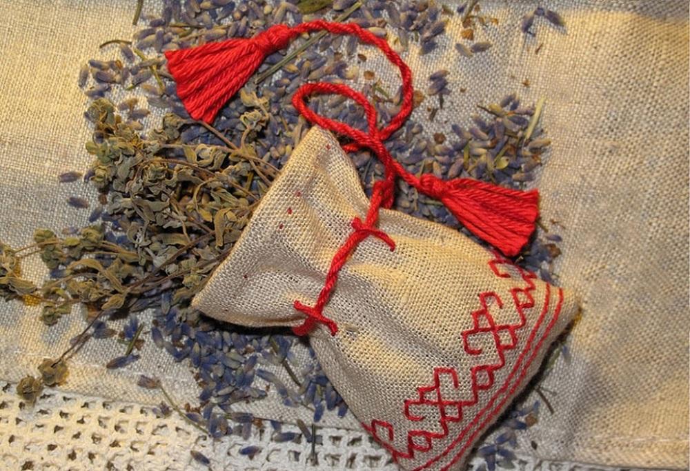 мешочки с травами от порчи