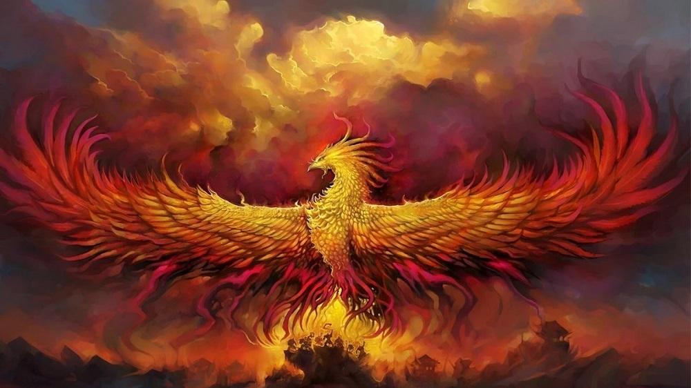 феникс восставший из пепла