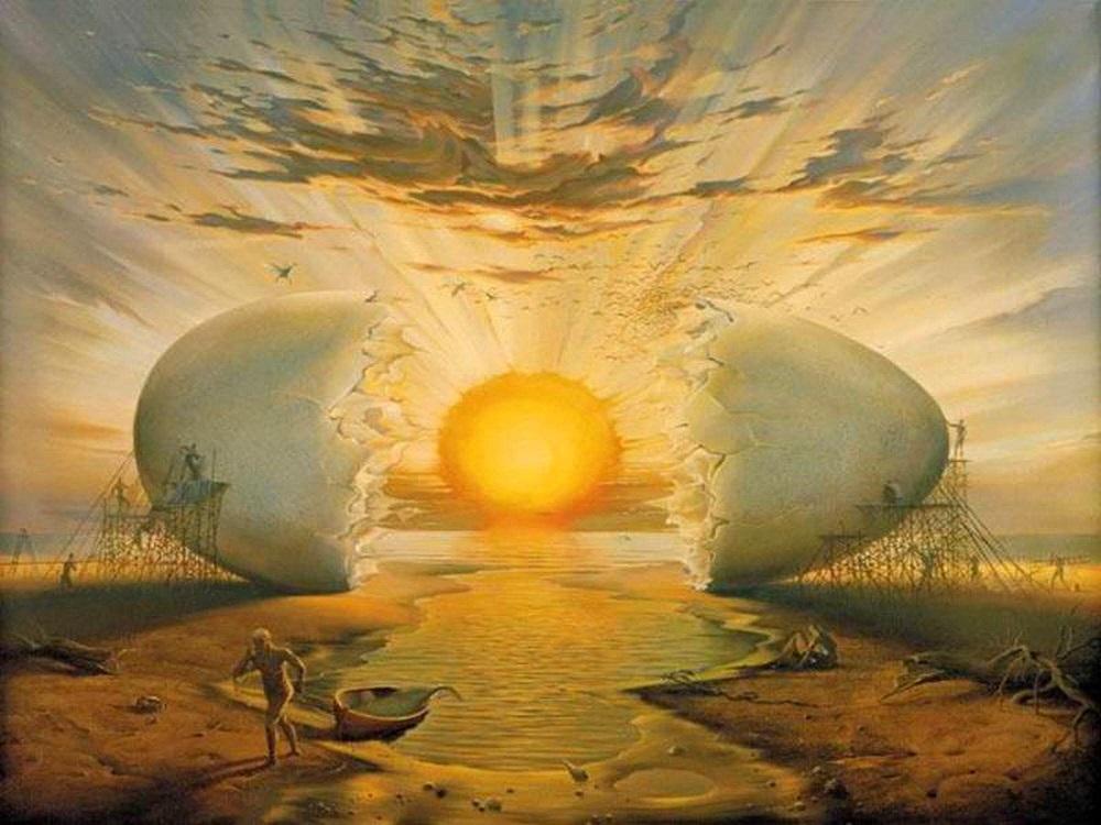яйцо как символ вселенной