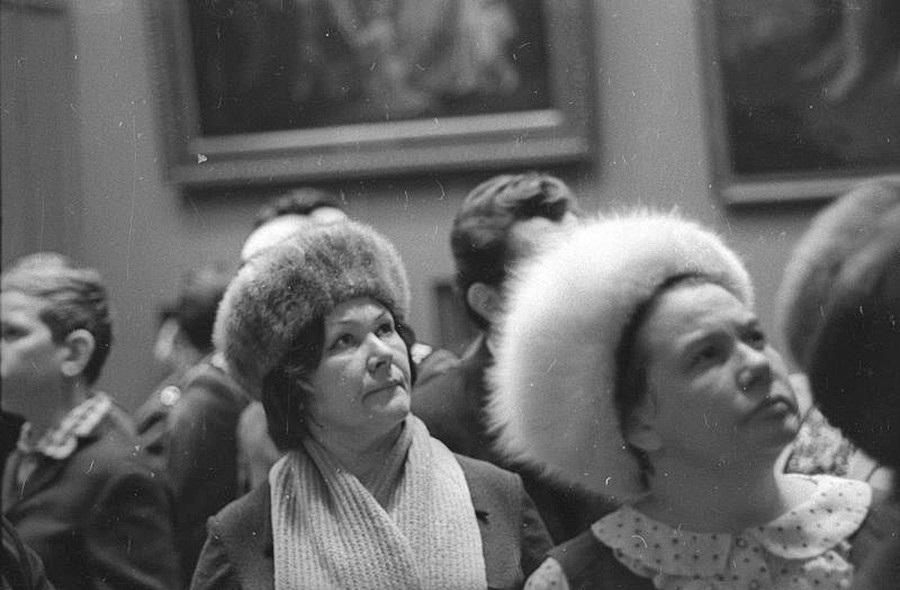 советские меховые шапки